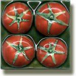 Angela Evans Tomato tile
