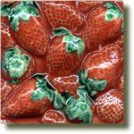 Angela Evans Strawberry tile