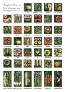 Fruit and Vegetable tiles brochure