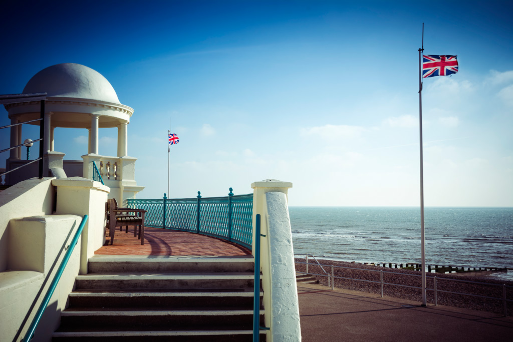 Bexhill Flags by Lance Bellers