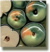 Angela Evans Apple tile