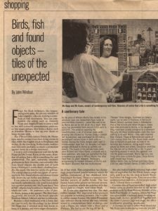 The Independent Lifestyle by John Windsor 12.7.1996