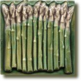 Angela Evans Asparagus tile