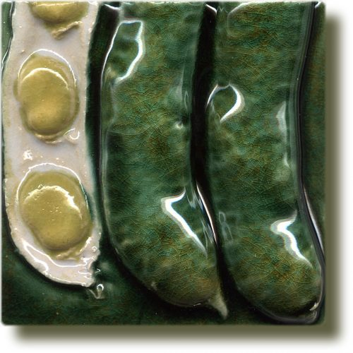 Angela Evans Broad Bean double tile bottom