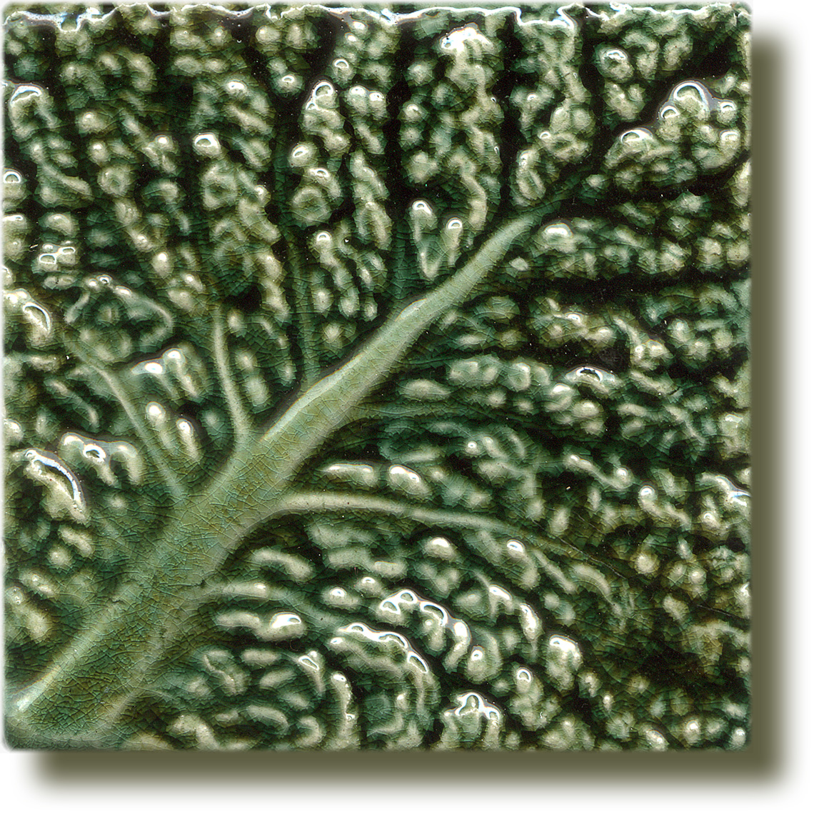 Angela Evans Cabbage tile Diagonal