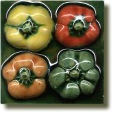 Angela Evans Mixed Baby Pepper tile