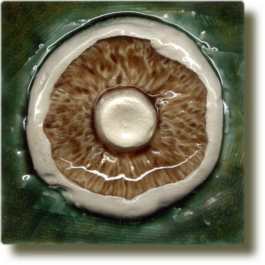 Angela Evans Mushroom tile
