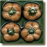 Angela Evans Orange Baby Pepper tile