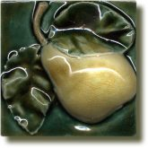 Angela Evans Pear tile