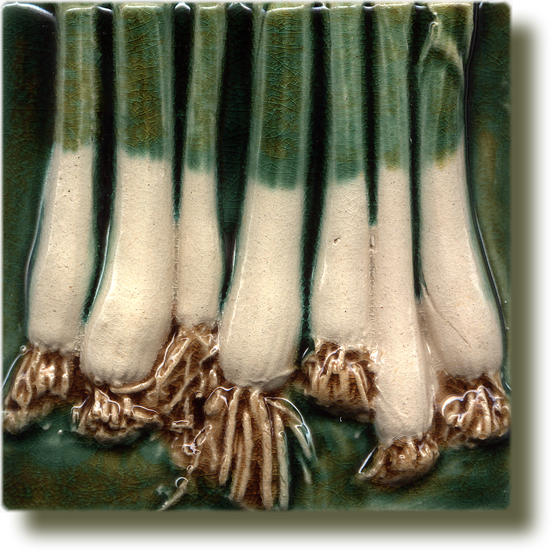 Angela Evans Spring Onion double tile bottom
