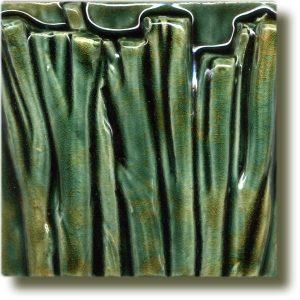 Angela Evans Spring Onion double tile top