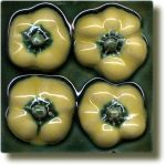 Angela Evans Yellow Baby Pepper tile