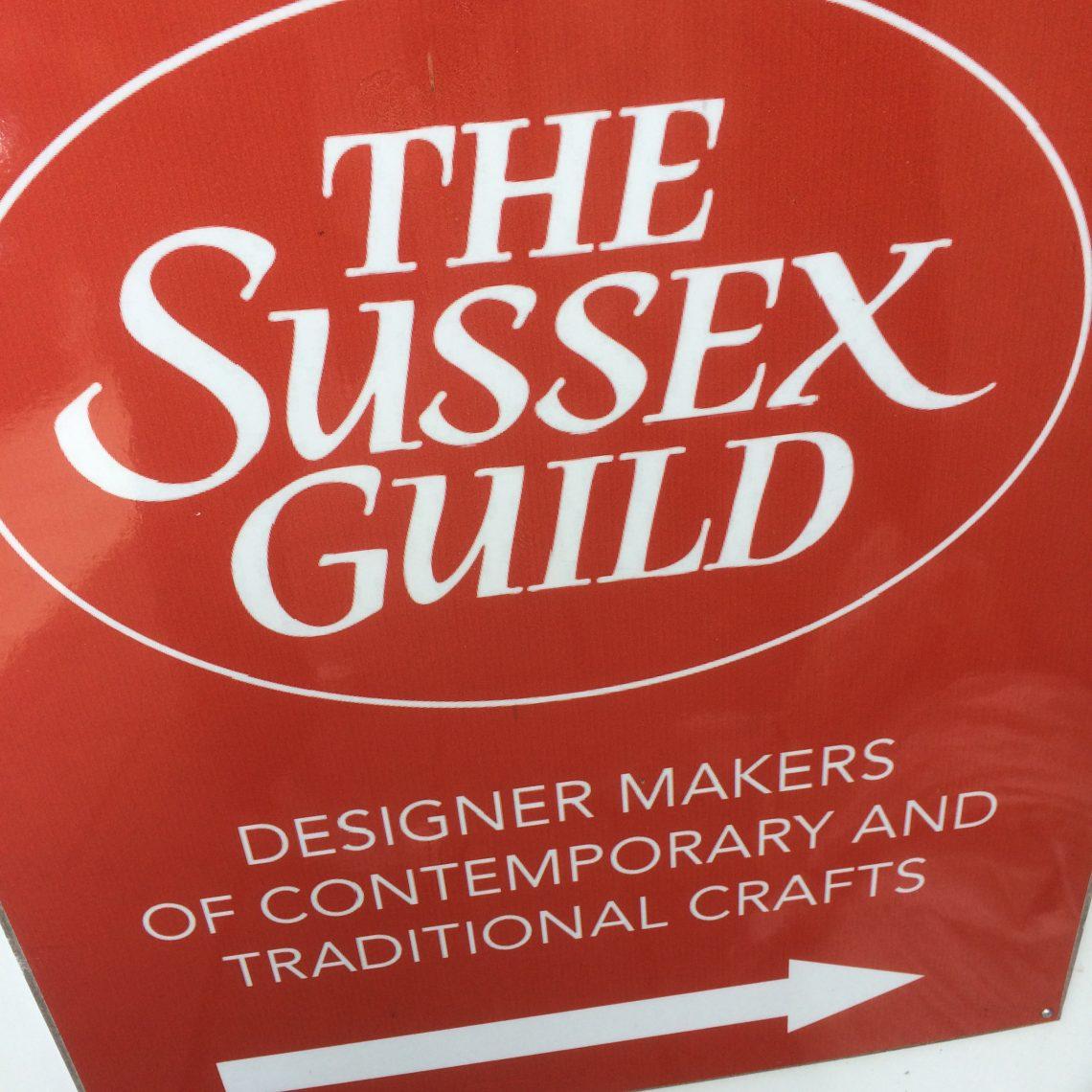 The Sussex Guild Shop sign