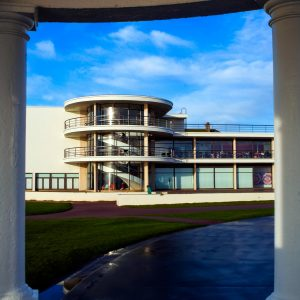 De La Warr Pavillion in Bexhill by Lance Bellers detail