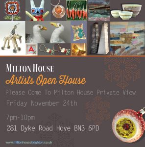 Milton House Christmas Invitation