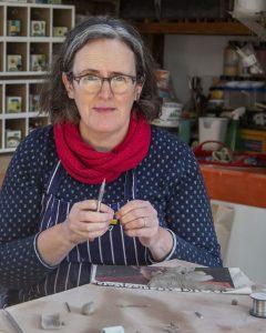 Angela Evans tile maker photograph by Rick Turner